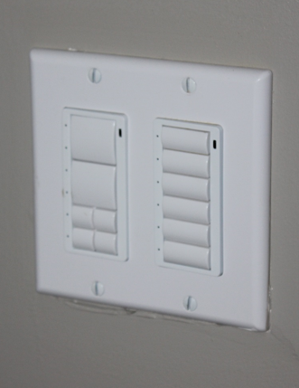 Light Panel - located in each residential room, those set up will be able to access from Sound Ideas tablet