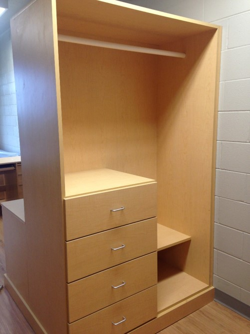 Personal Items Storage – Each student gets their own wardrobe space