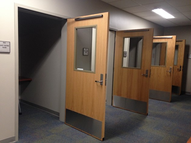 Disability Resource Center expansion - six quiet testing rooms